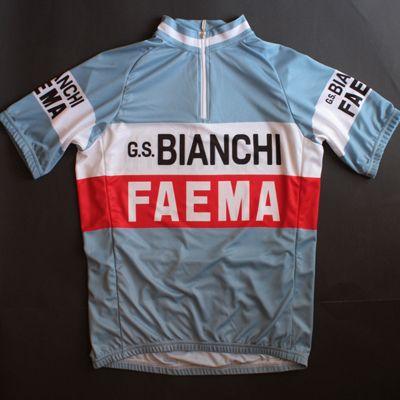 Bianchi Faema Short Sleeve Cycling Jersey - RETRO - SIZE XL ONLY ... e9825b2dd