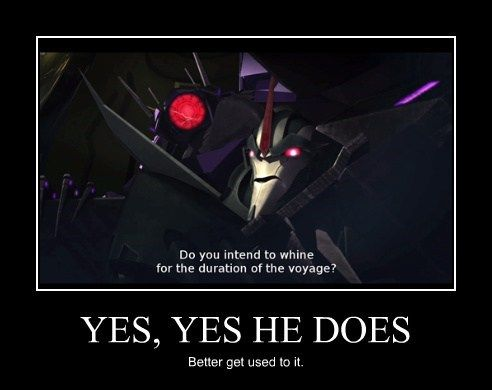 Ya know, for such a 'logical' guy, Shockwave sure has an awful lot of sass in him...<<<pinning for that comment
