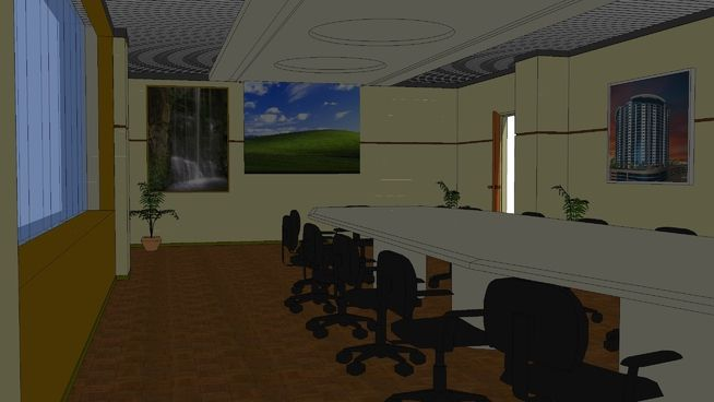 My design office conference room using the most cost effective for smooth and easy inside the conference room