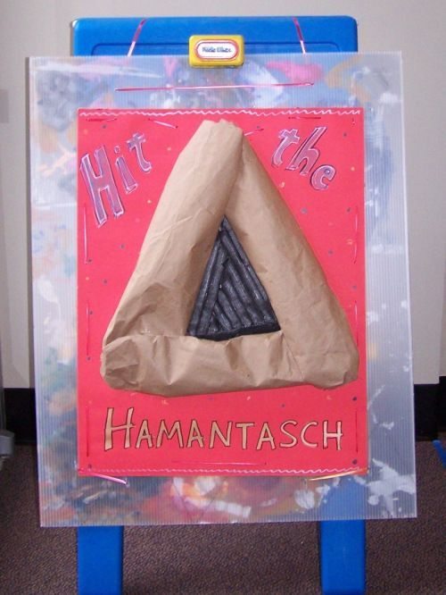 Purim Game Hit The Hamantasch Purim Crafts Preschool Purim