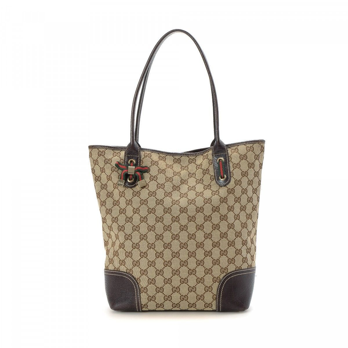 f728a6ae681 LXRandCo guarantees this is an authentic vintage Gucci Charmy tote. This  iconic large handbag was