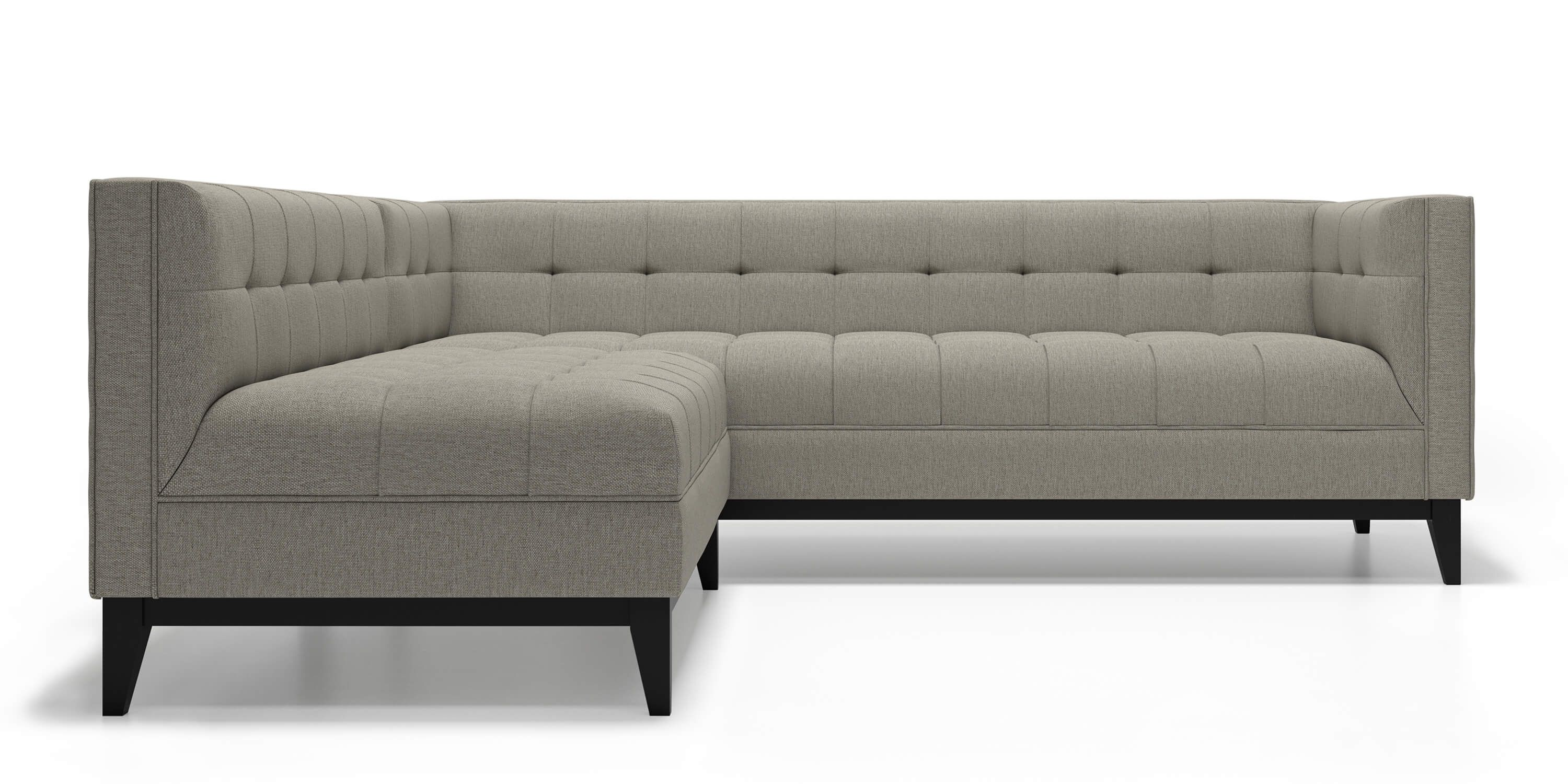 Nigel sofa sectional in grey goose fabric by kavuus com 2895 00 made in canada