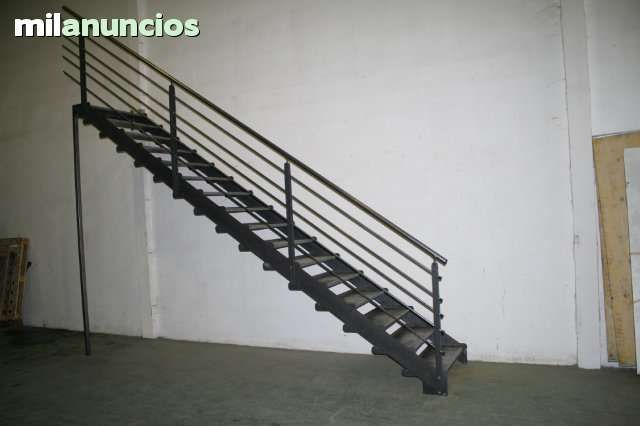 Resultado de imagen de escaleras con vigas de hierro ok for Construccion de escaleras de hierro