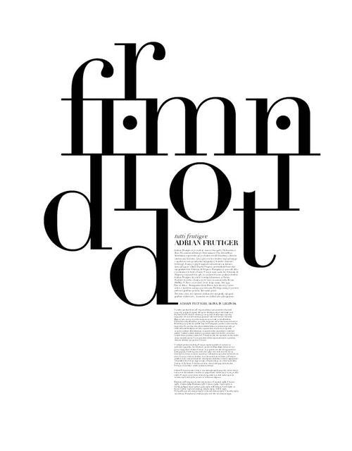 didot #typography #layout