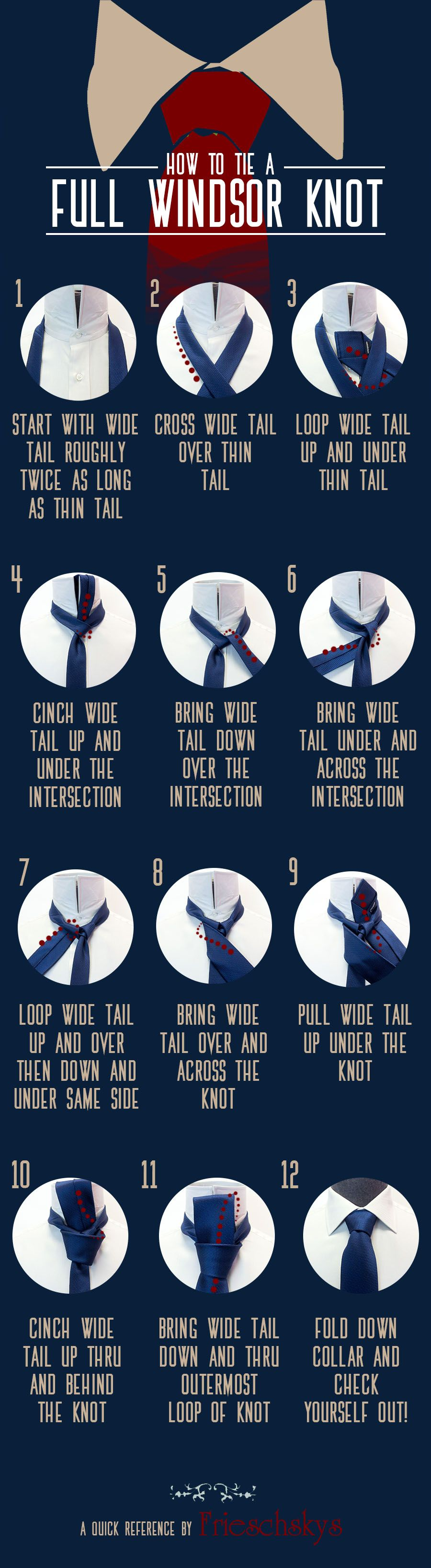 Learn how to tie a full windsor knot like a pro the gentlemans learn how to tie a full windsor knot like a pro ccuart Images
