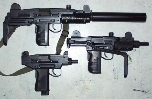 Full size, Mini and Micro Uzi | cool stuff | Submachine gun