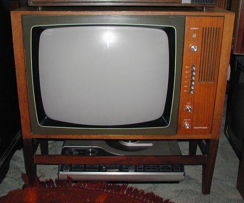 Vintage Rediffusion Ctv Dual Standard 405 625 Lines Colour