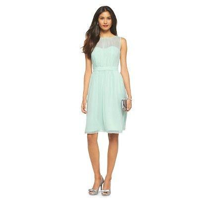 6c65540fdea Women s Chiffon Illusion Sleeveless Bridesmaid Dress Fashion Colors -  TEVOLIO  153 - Cool Mint