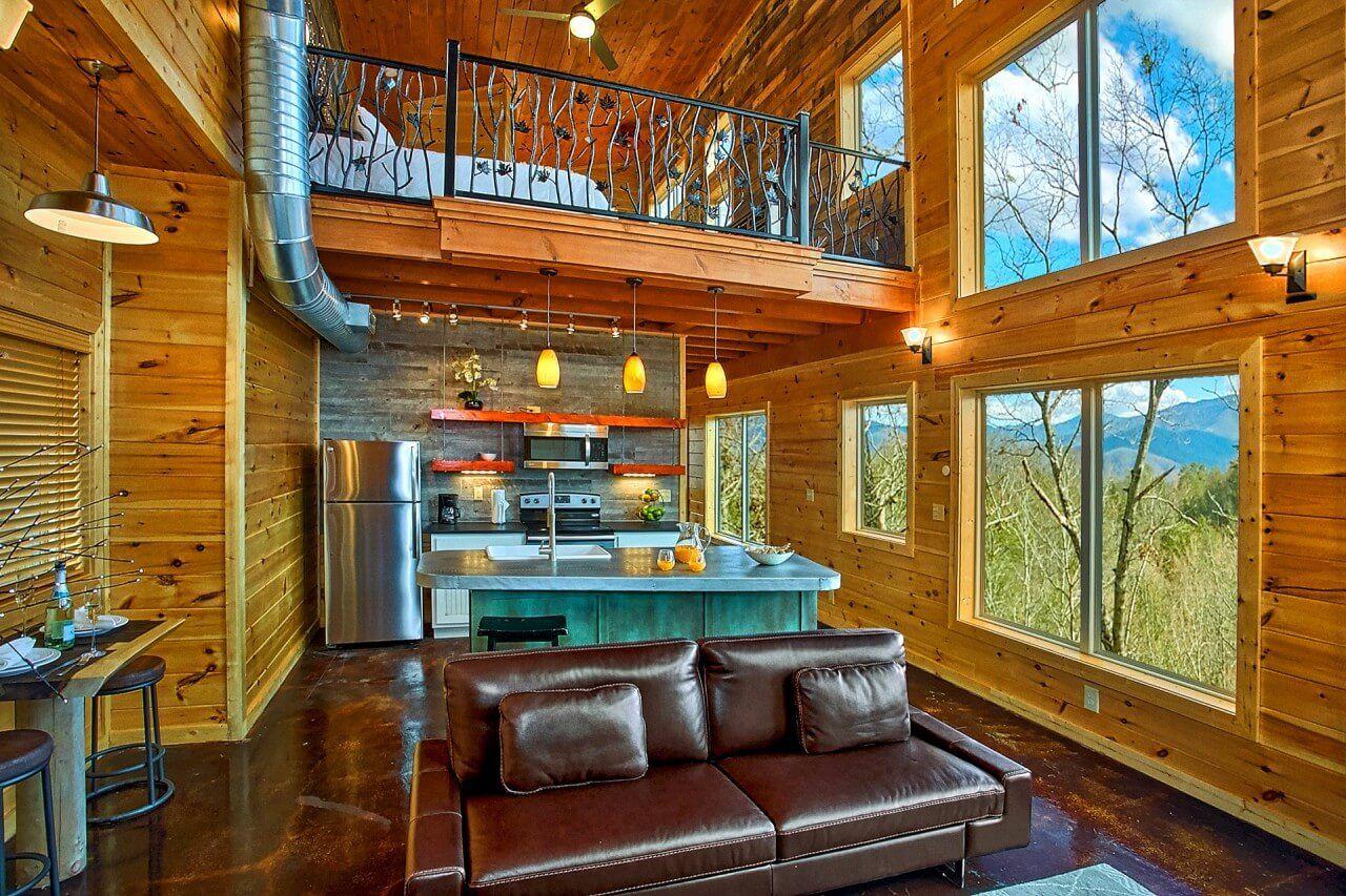 Gatlinburg Cabin Rentals In The Smoky Mountains Modern Cabin Cabin Gatlinburg Cabins