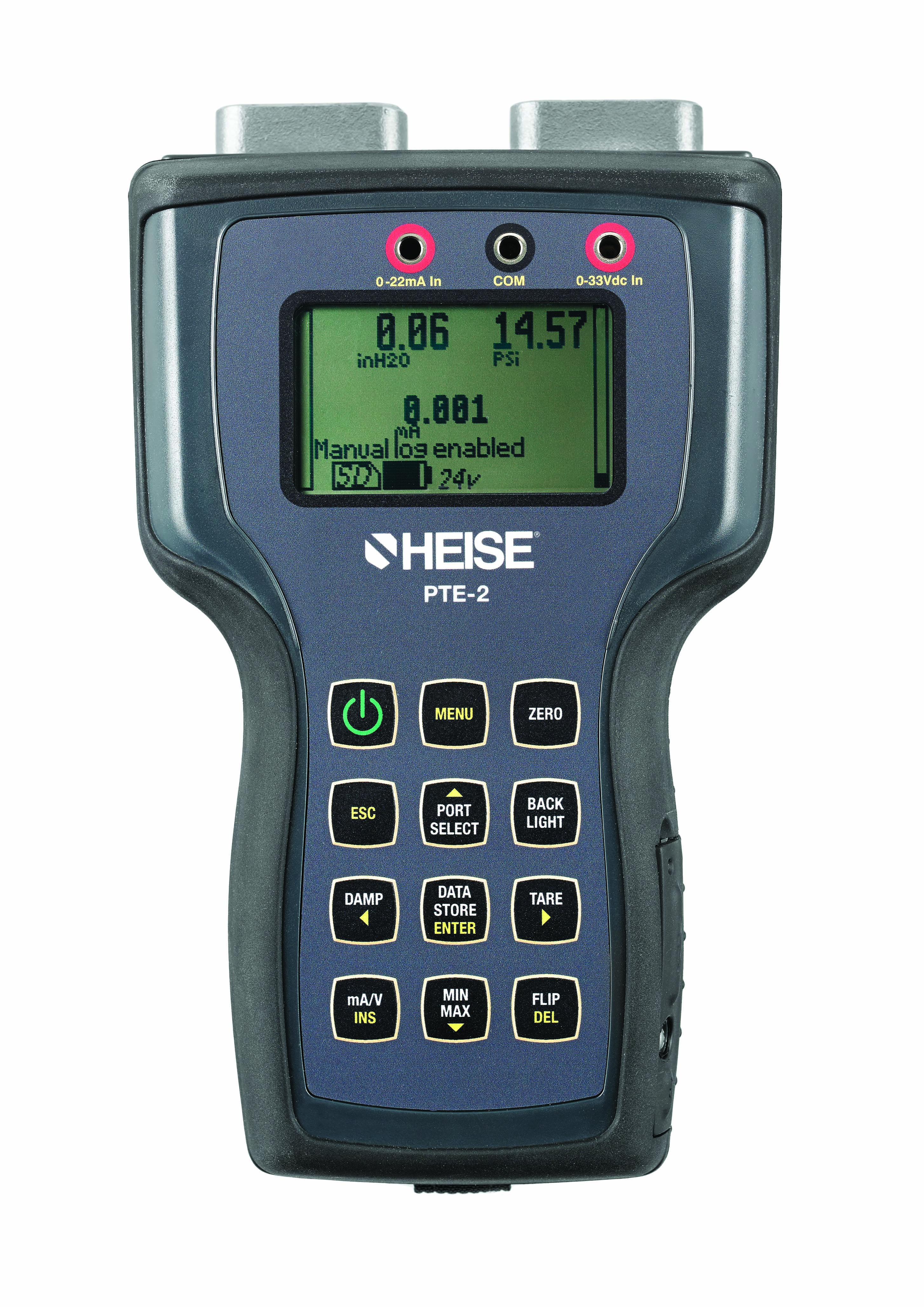 "Need to measure pressure, temperature, voltage or current?  Put a ""test lab"" in your hands with our new Heise® PTE-2 handheld calibrator!  Check out the new design and added features including a USB port, SD card, backlit LCD and an onboard loop power supply.  http://bit.ly/US2Bxn"