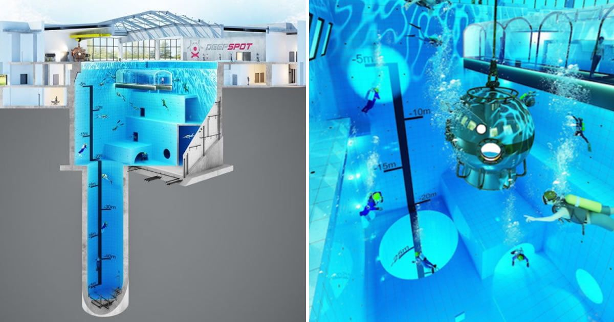 World S Deepest Swimming Pool To Be Opened In Poland This Year
