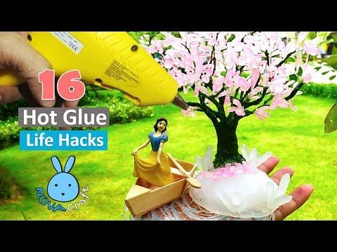 16 Hot Glue Gun Life Hacks For Crafting 5 Minute Crafts To Do When Your