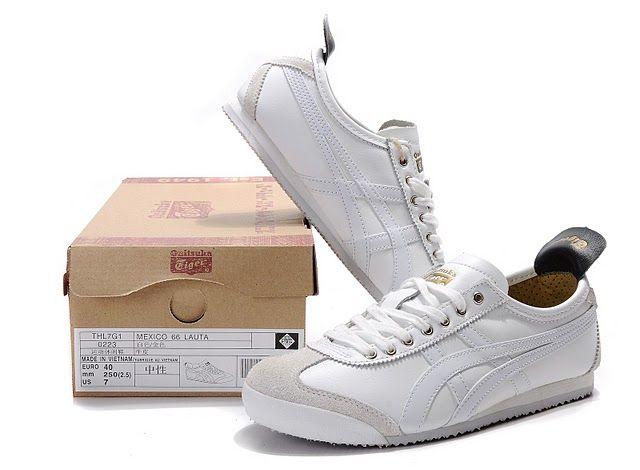 ef0b1cc1b39a8 Mens Onitsuka Tiger Mexico 66 White Black LAUTA Shoes  onitsukatiger ...