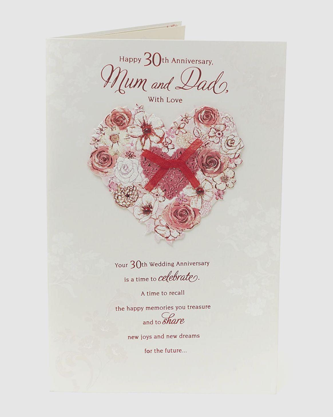 8 Card Wedding Anniversary
