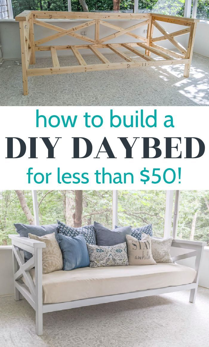 How to Build a DIY Daybed for $50