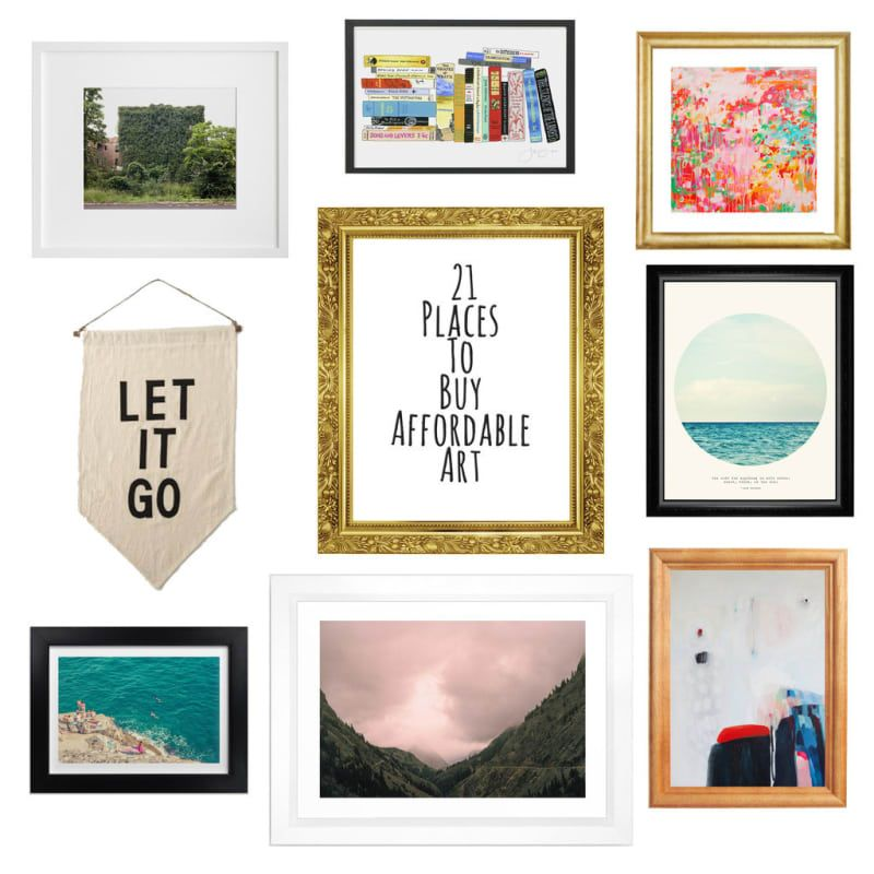 16 Places To Buy Original Art That\'s Actually Affordable | Home ...