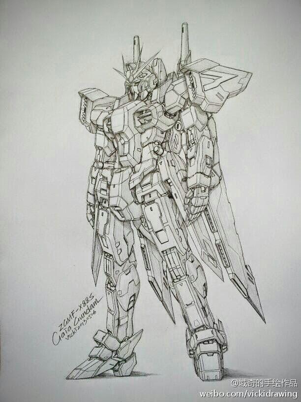 Gundam And Mobile Suit Pencil Drawings By Vicki Via Pixiv Gundam Art Gundam Wallpapers Sketches