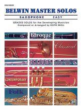 Belwin Master Solos, Volume 1 (Alto Saxophone) (Book)
