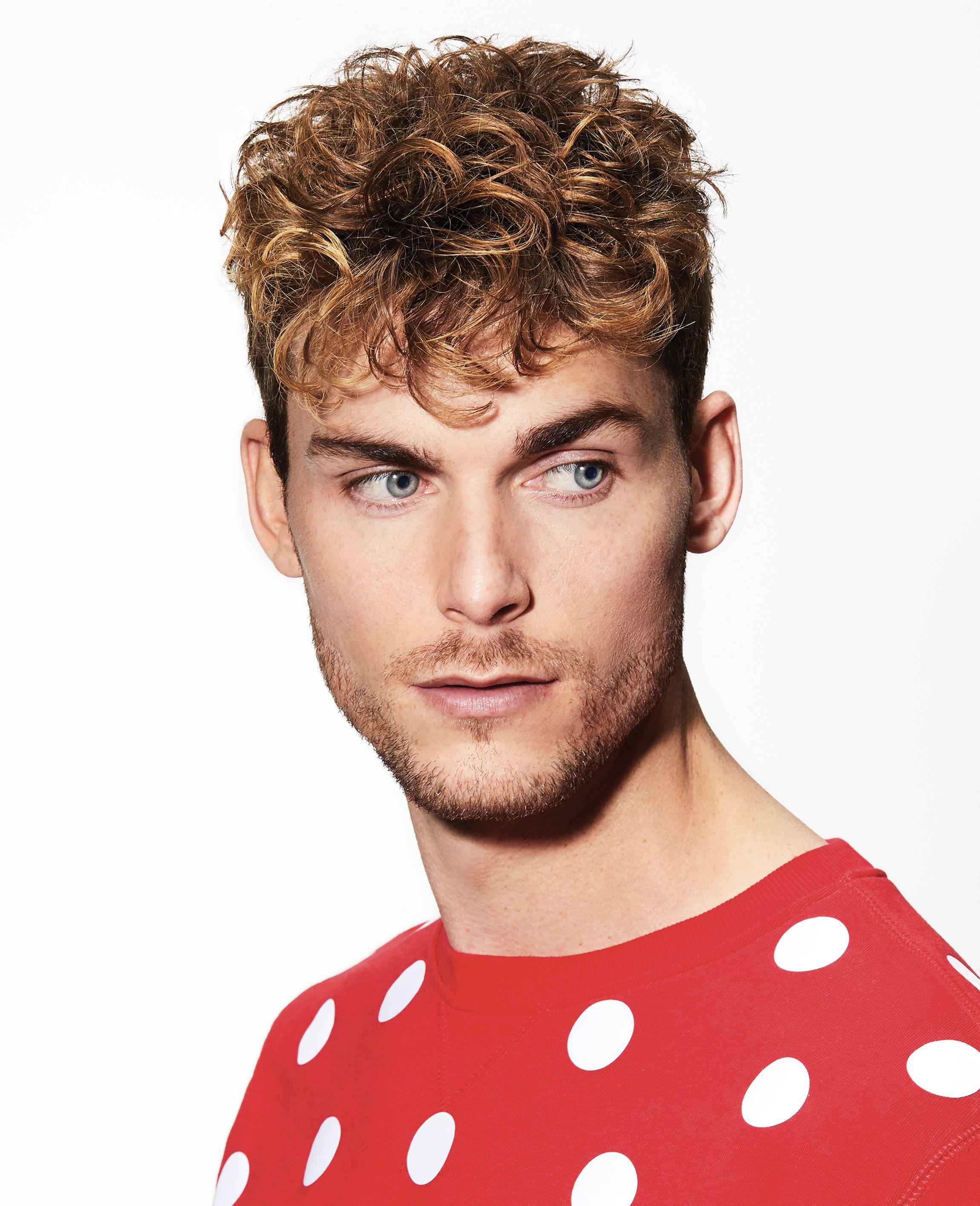 Enzo Coupe Homme Cheveux Boucles Coiffure Coupe Homme Cheveux Homme