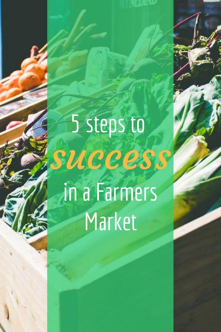 5 steps to success in a farmers market farmers market