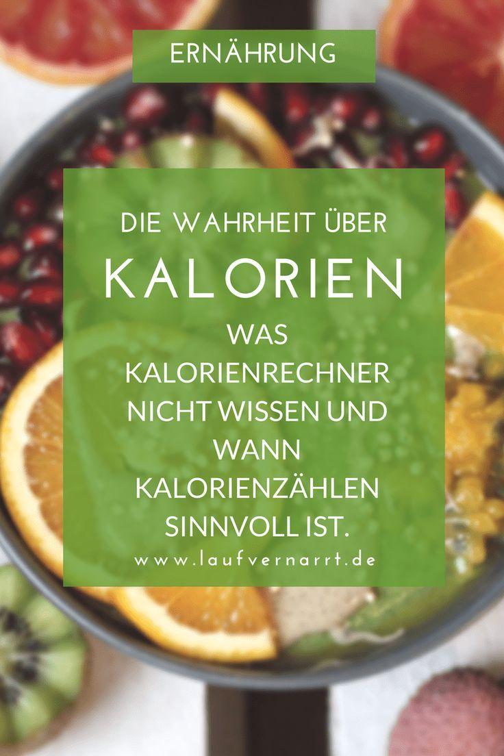 Die Wahrheit über Kalorien: eine Kalorie ist keine Kalorie..