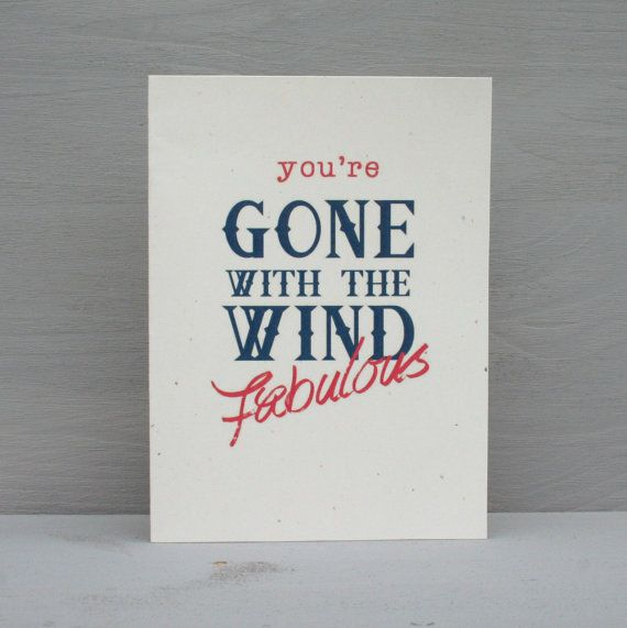 Gone with the wind fabulous real housewives inspired greeting card real housewives gone with the wind fabulous greeting card bookmarktalkfo Choice Image