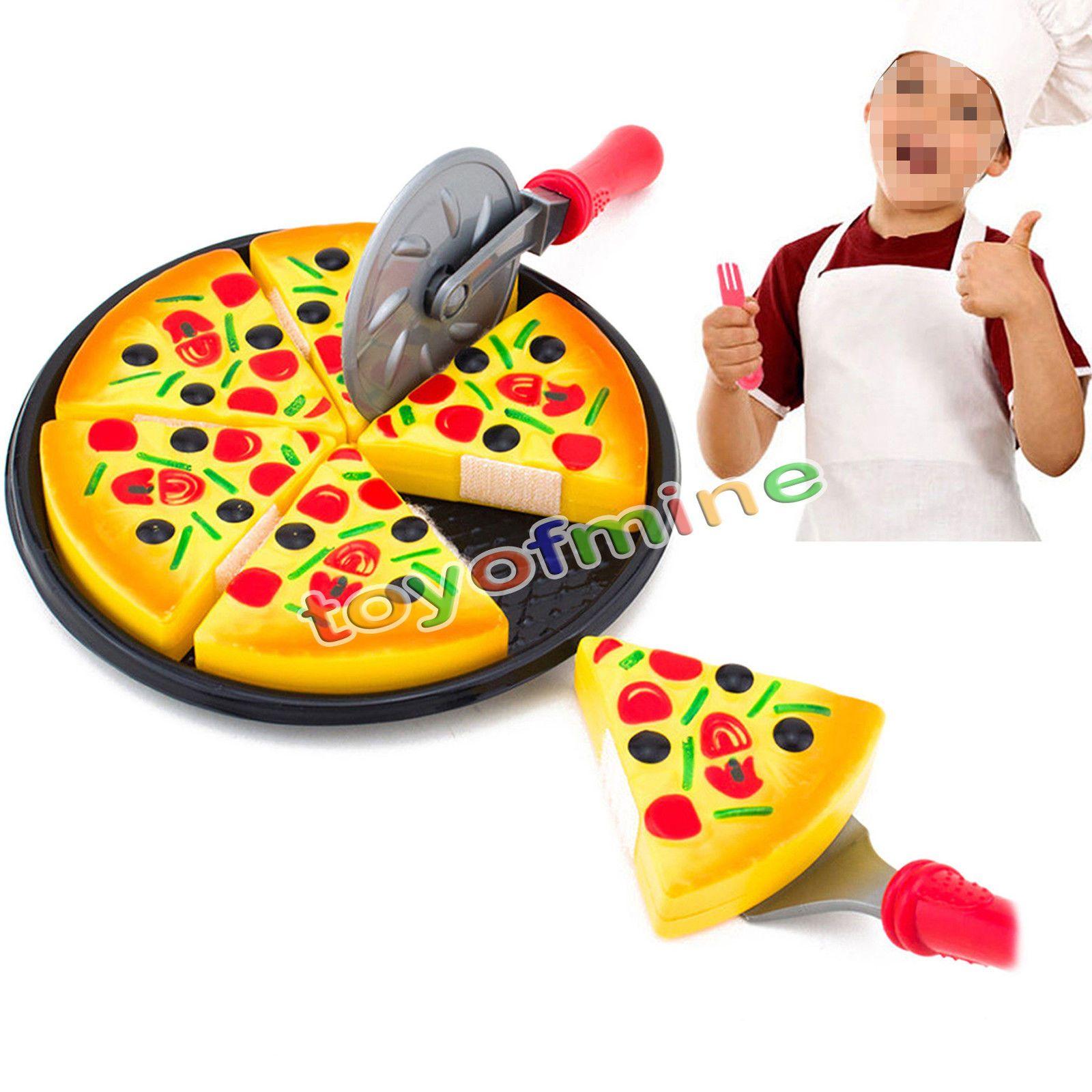Neue Kreative Kinder Spielzeug Schneiden Pizza Pie Spielzeug Fast ...