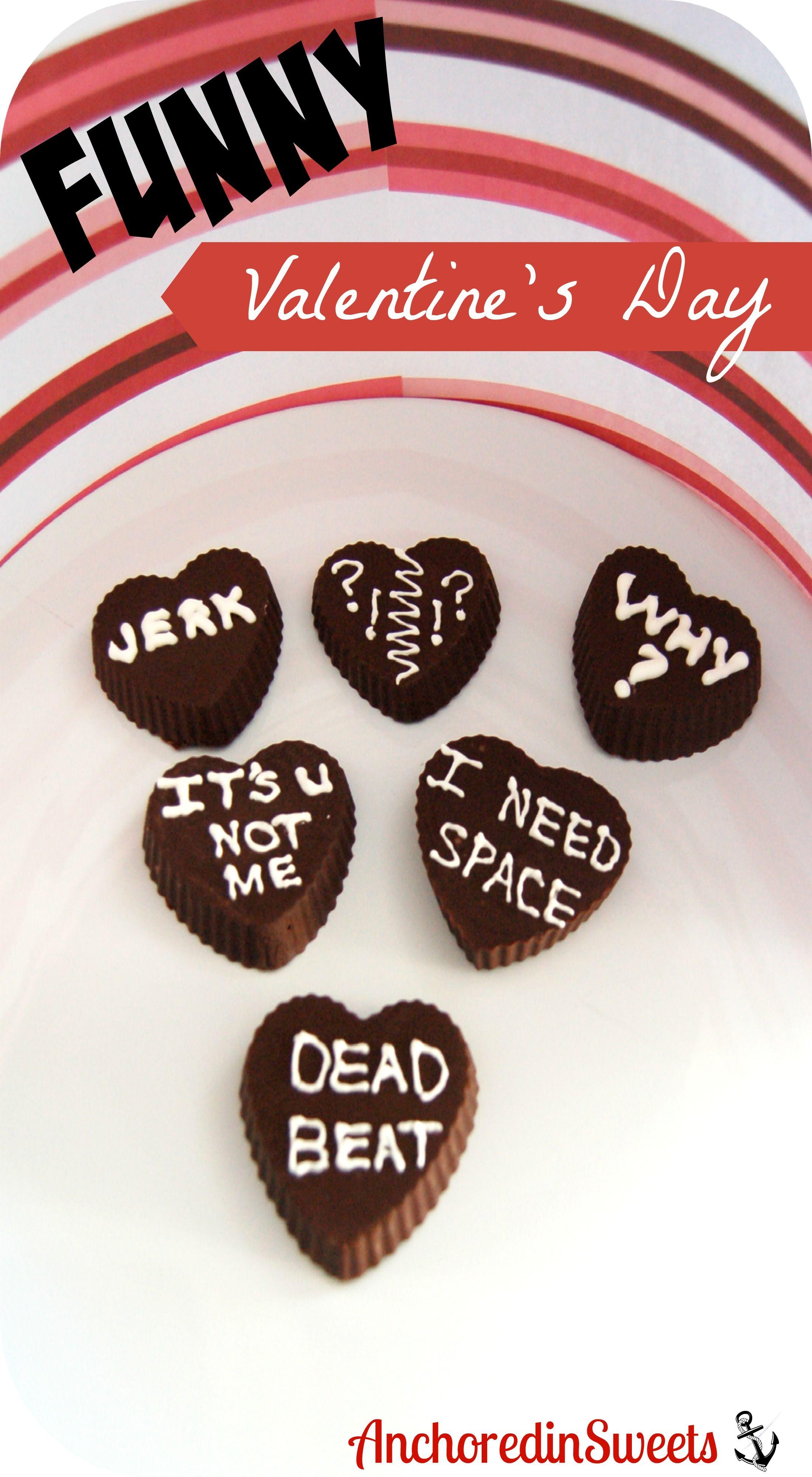 Anti Valentine S Day Chocolate Hearts Recipe Dessert Recipes