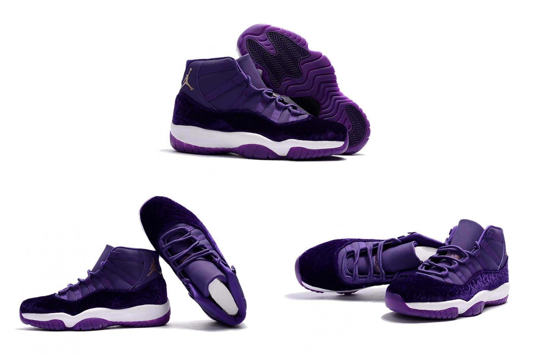 """Air Jordan 11 """"purple Velvet"""" For"""