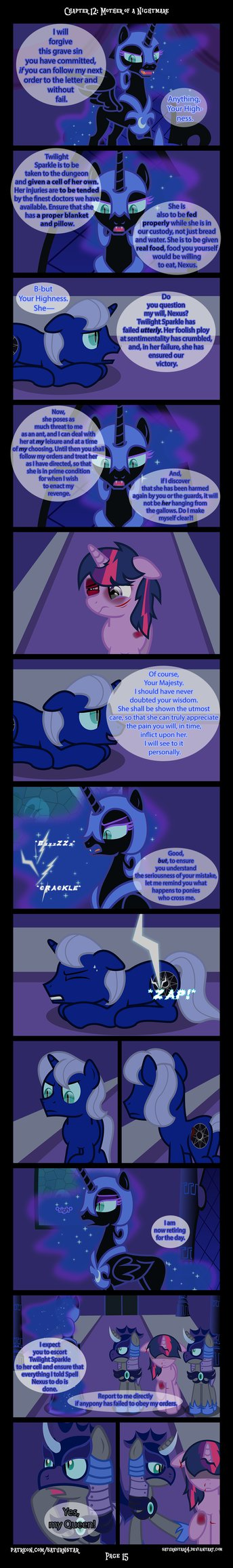 Past Sins: Mother of a Nightmare P15 by SaturnStar14