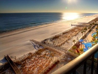 #5 $1020  View of gorgeous beaches, gulf, and sunsets from large balcony on 8th floor