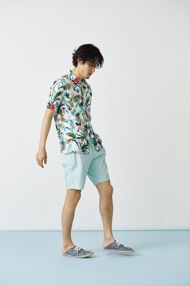 H&Mが提案する、夏の定番ショーツスタイル 2015 〜メンズ編〜 – THE FASHION POST [ザ・ファッションポスト]