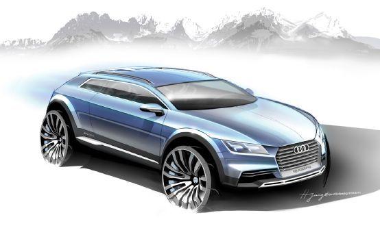 Detroit Bound Audi Show Car Previews Small E Tron Crossover Motor