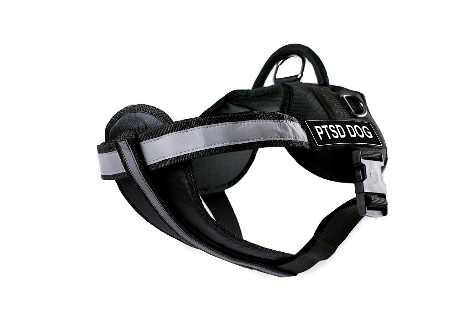 DT Works Harness with Padded Reflective Chest Straps