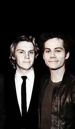 Dylan and Evan are perfect <3