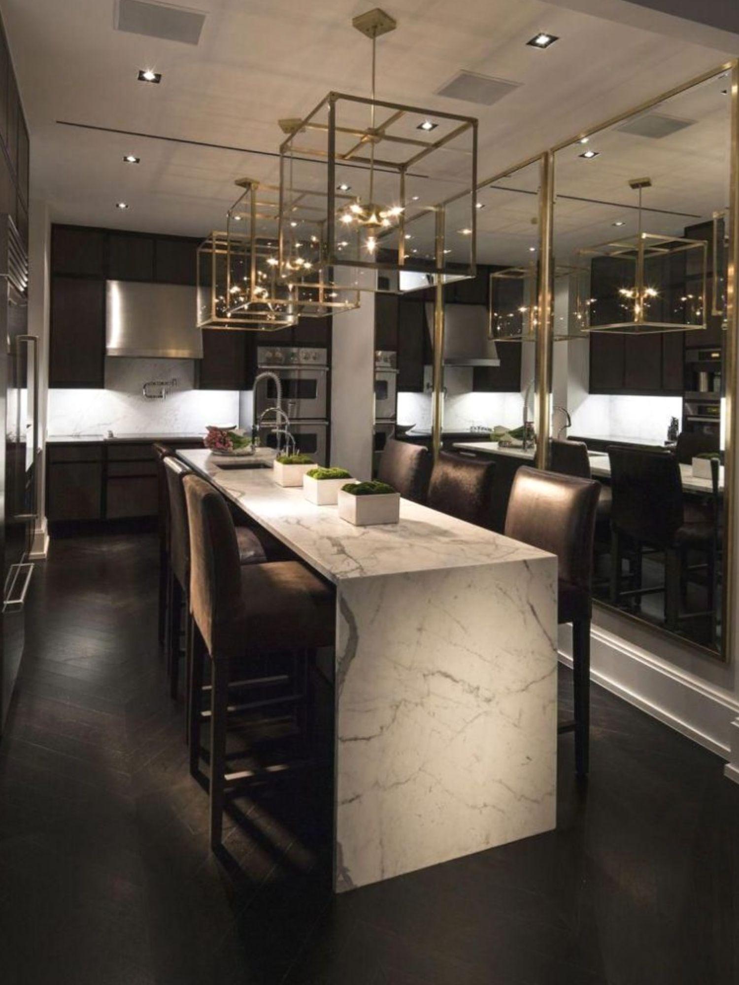 Unique Urban Modern Interior Design Dining Rooms 957 Urbanmoderninteriordesign Design Interiordes Luxury Kitchens Home Decor Kitchen Modern Kitchen Lighting