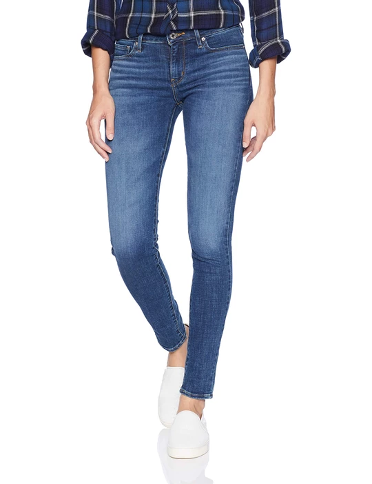 Levi's Women's 711 Skinny Fit Jeans Astro Indigo