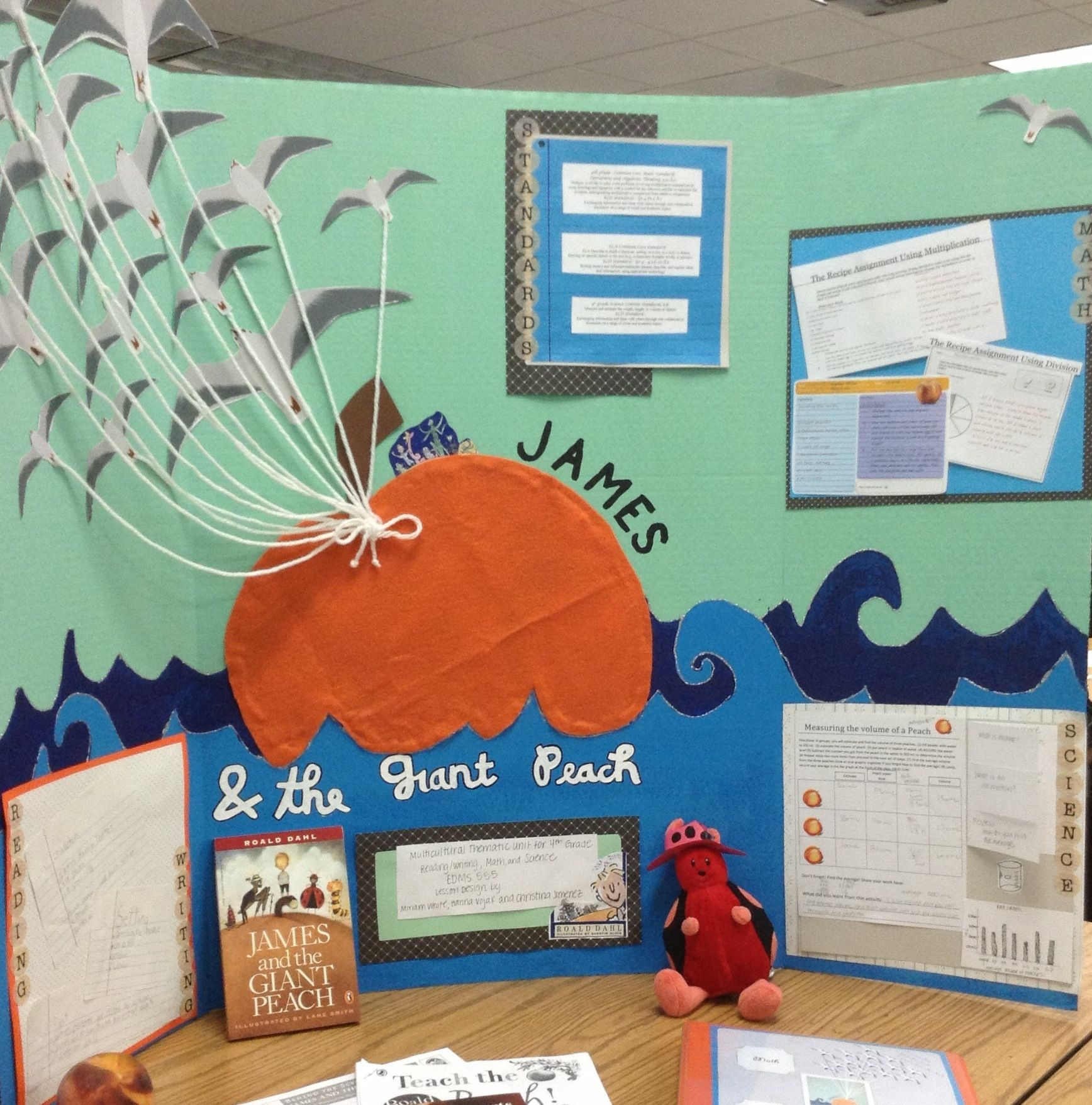 Close Up Of James And Giant Peach Project