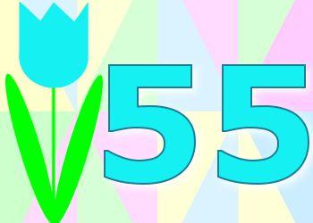 Leuke 55 Jaar Verjaardag Plaatjes Verjaardagskaarten Pinterest