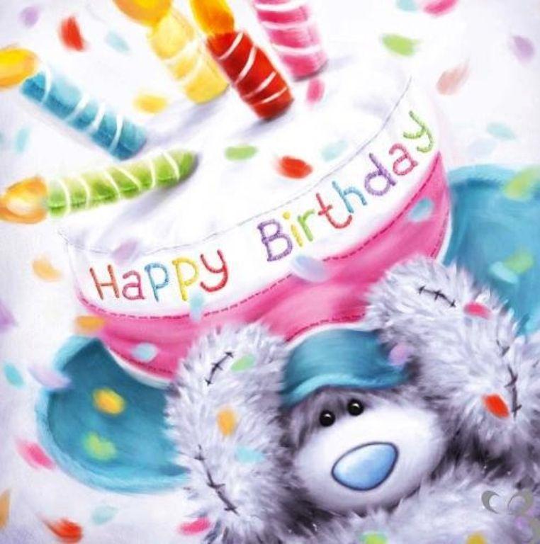 Pin by Lina Rosales on feliz cumplea os Pinterest – Tatty Teddy Birthday Cards