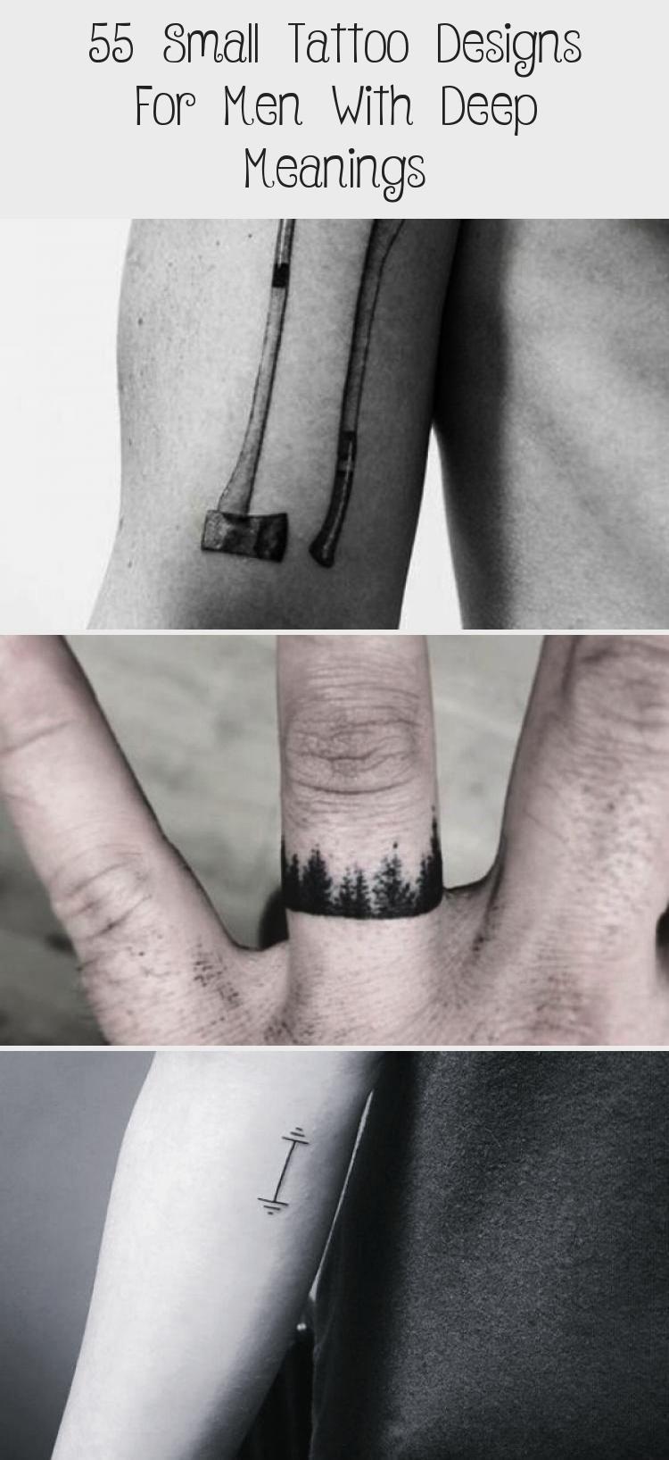 Photo of 55 Kleine Tattoo Designs für Männer mit tiefen Bedeutungen – Tattoos – Kleine Tattoo Des …