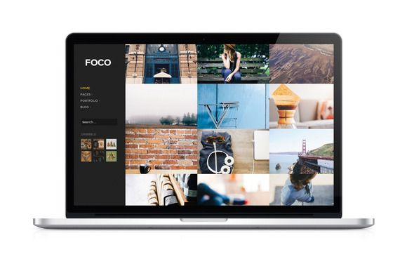 Foco - Minimal Portfolio Theme  @creativework247