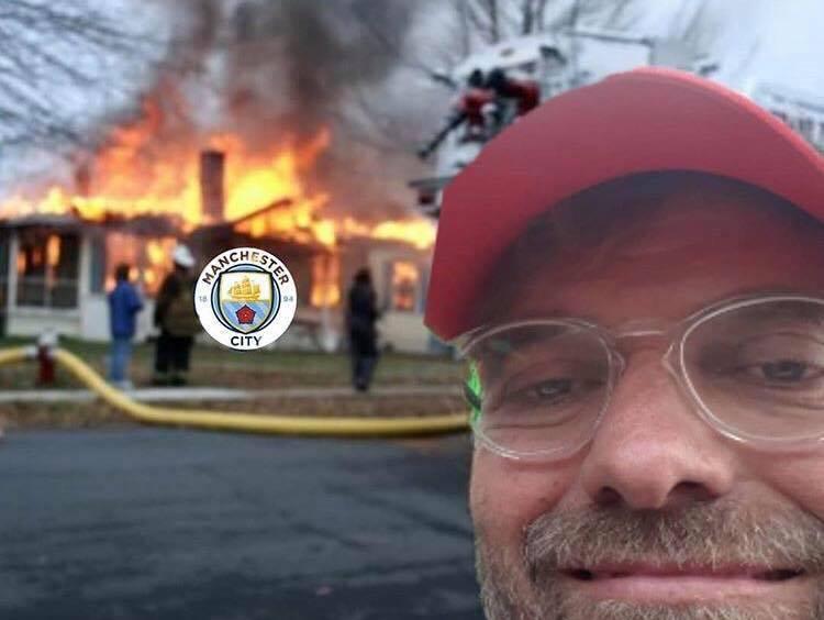 Bad Klopp He Totally Destroyed City Football Funny Meme Funny Memes Comedy Soccer Humor Liverpool Memes Football Memes Liverpool Football Club