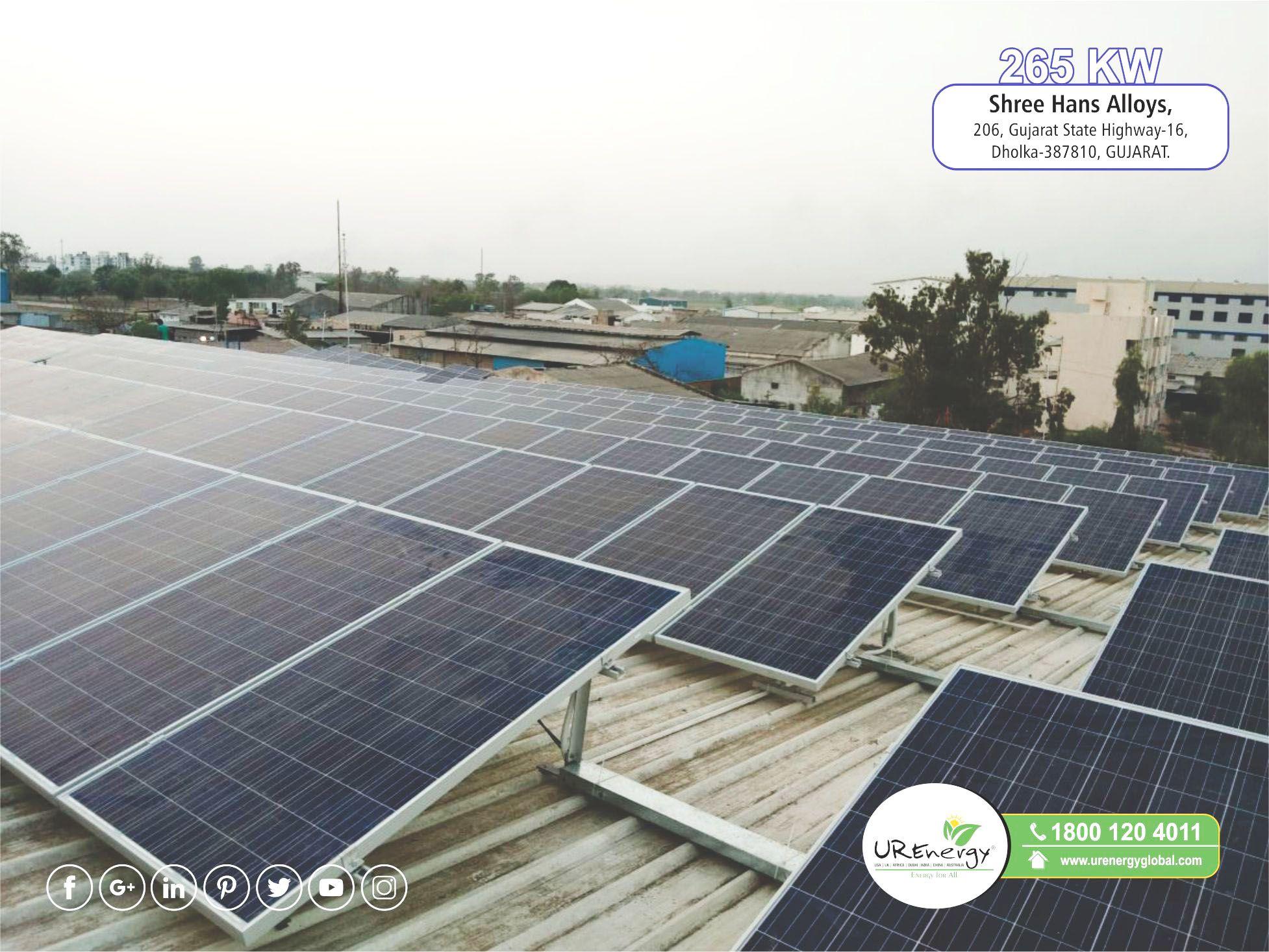 Rooftop Solar Panel Inverters Water Pump Solar Epc Gujarat India U R Energy Solar Solar Energy Solutions Solar Water Pump