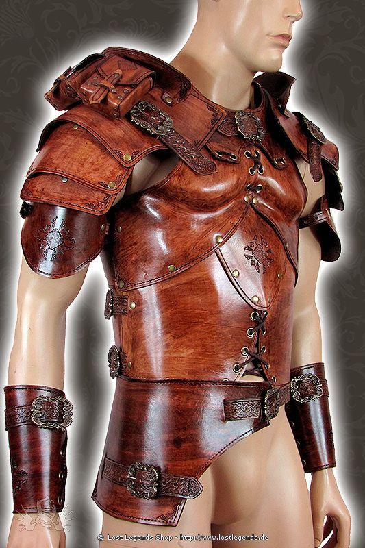 Larp Lederrüstung Full Rogue Armor