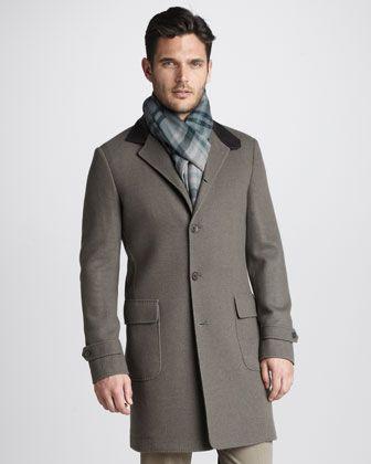 e1e6faab037 Novalis Cashmere-Blend Coat by Loro Piana at Neiman Marcus.