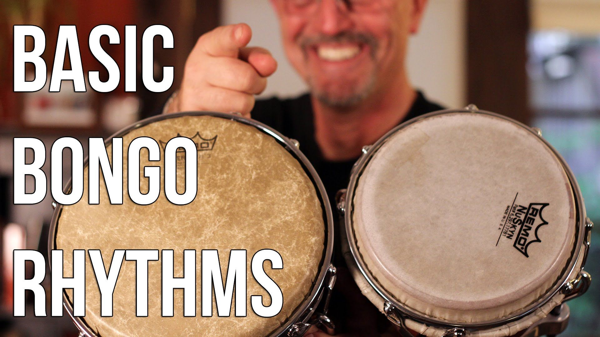 how to play bongo drums basic martillo for beginners drum basics played yourself [ 1920 x 1080 Pixel ]