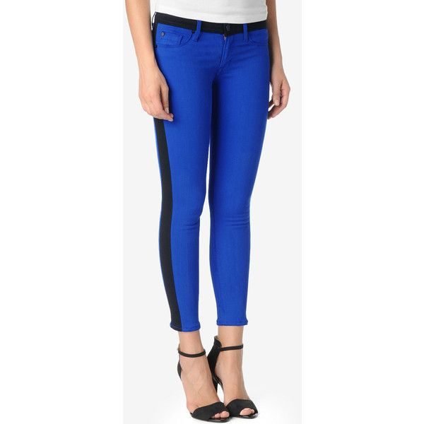 1279ac3a1d6 Hudson Jeans Leeloo Super Skinny Crop ($198) ❤ liked on Polyvore ...