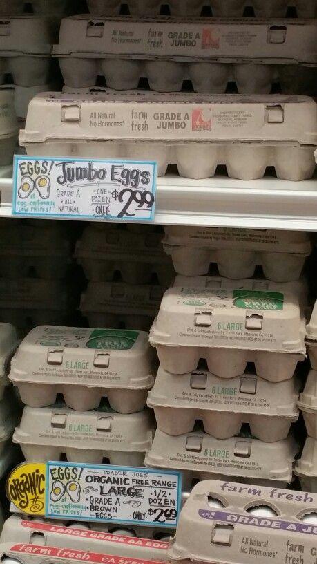 Price of Trader Joe's Jumbo Eggs