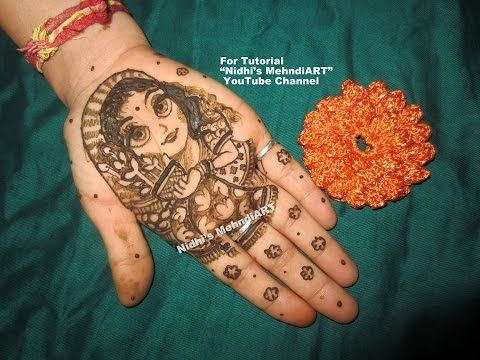 Mehndi For The Inspired Artist : Youtube harin dalal inspired gaurivrat special mehndi design